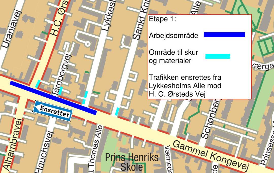 413db6e711b8 8. februar 2019 Prøvegravninger  Forud for renovering af vandledningen  langs Gammel Kongevej er der onsdag den 30.01.2019 udført 4 prøvegravninger  ud for ...